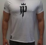 """T-Shirt JP """"Vide Cul Fide"""" biały"""