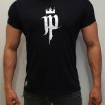 """T-Shirt JP """"Vide Cul Fide"""" czarny"""
