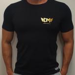 "T-shirt DM ""Champ"" black premium"