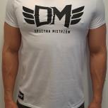 """T-shirt DM """"Zdrowy Duch"""" biały"""