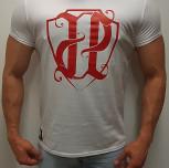 """T-shirt JP """"HERB"""" biały"""