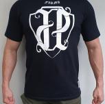 "T-shirt JP ""PKIUZ"" white"