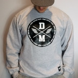 "Bluza DM ""Logo"" szara"