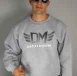 """Bluza DM klasyk """"TCM"""" szara/grafit"""