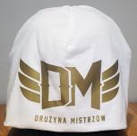 Czapka DM Classic biała/złoty