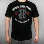 """( !! OUTLET !! ) T-shirt """"Marka Ludzi Zasad"""" czarny (czerwony)"""