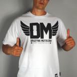 "T-shirt DM ""Max"" biały"