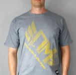 """T-shirt DM """"Mistrzostwo"""" szary"""