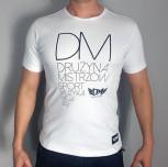 "T-shirt DM ""Pasja"" biały"