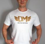 "T-shirt DM ""TCM"" biały"