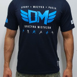 "T-shirt DM ""TCM"" blue"