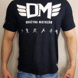 "T-shirt DM ""TCM"" czarny"