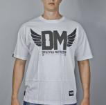 "T-shirt DM ""2"" biały"