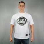 """T-shirt Drużyna Mistrzów """"Sport Muzyka Pasja"""" biały"""