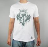 """T-shirt """"Gryfy Nowe"""" biały [REG]"""