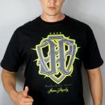 """T-shirt JP """"Firma Nie Zginęła"""" czarny"""