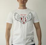 """T-shirt JP """"Jestem Patriotą III"""" biały"""