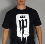"T-shirt JP ""Korona h.s.e.k"" czarny"