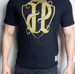 """T-shirt JP """"PKIUZ"""" gold"""