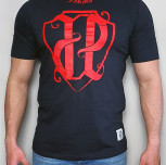 "T-shirt JP ""PKIUZ"" red"