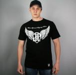 """T-shirt JP """"Skrzydła"""" czarny"""