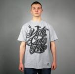 """T-shirt JP """"Vide Cul Fide"""" szary"""