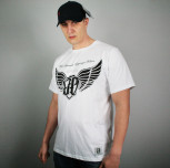 "T-shirt JP ""Skrzydła"" biały"