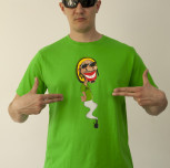 T-shirt RASTA-HASH zielony