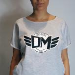 T-shirt/Tunika DM szara SMP