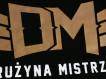 "T-shirt DM ""TCM"" czarny/brąz"