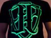 """T-shirt JP """"PKIUZ""""grafit (świeci w ciemności)"""
