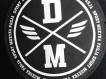"""Spodnie dresowe DM """"Logo"""" czarne"""