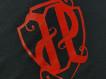 "T-shirt JP ""FIRMA JP"" black/red"