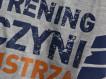 """T-shirt DM """"TCM"""" szary/pomarańcz"""